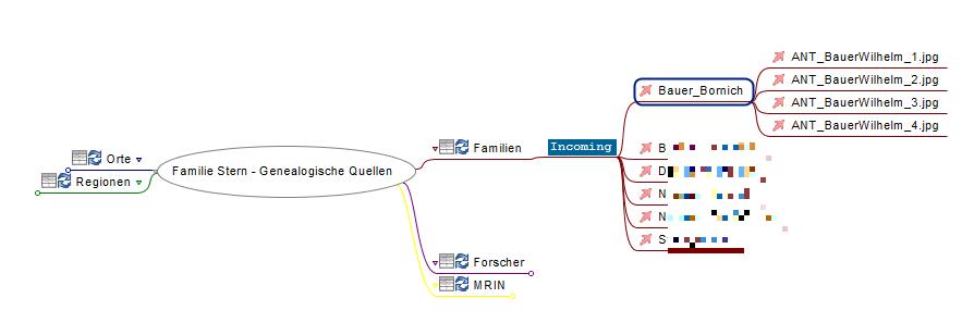 Docear für Genealogen