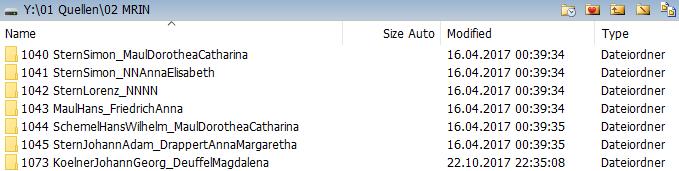 Dateiablage